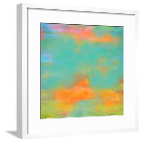 What a Color Art Series Abstract XII-Ricki Mountain-Framed Art Print