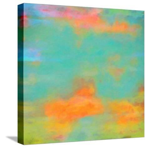 What a Color Art Series Abstract XII-Ricki Mountain-Stretched Canvas Print