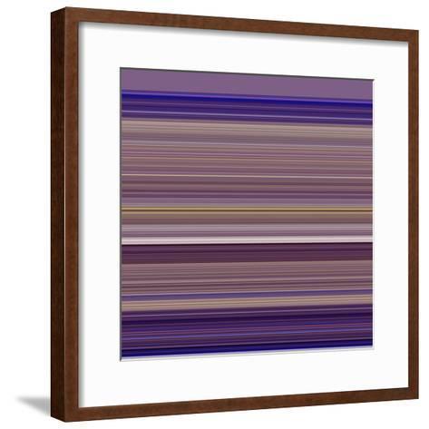 A R T Wave 13-Ricki Mountain-Framed Art Print