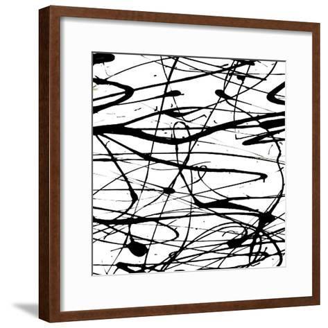 Splatter Paint I-Ricki Mountain-Framed Art Print