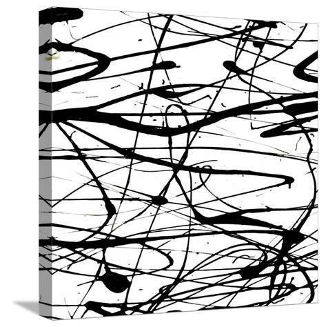 Splatter Paint I-Ricki Mountain-Stretched Canvas Print