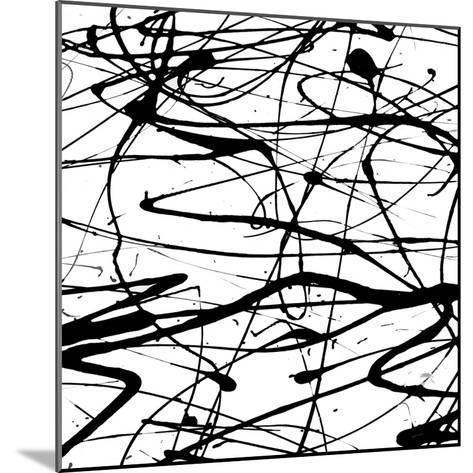 Splatter Paint I-Ricki Mountain-Mounted Art Print