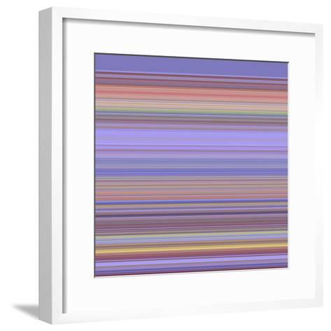 A R T Wave 18-Ricki Mountain-Framed Art Print