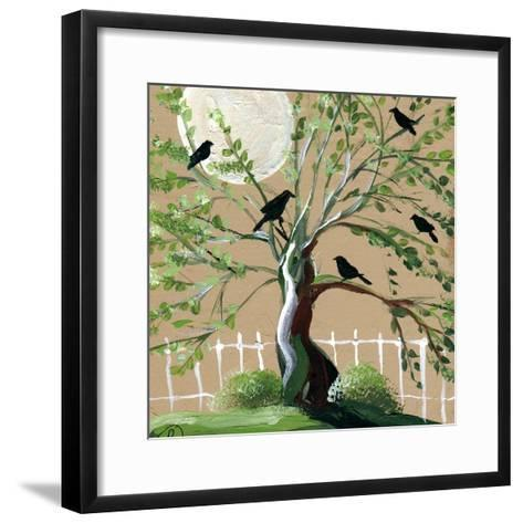 Country Crows-sylvia pimental-Framed Art Print