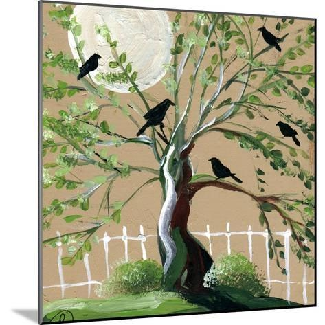 Country Crows-sylvia pimental-Mounted Art Print