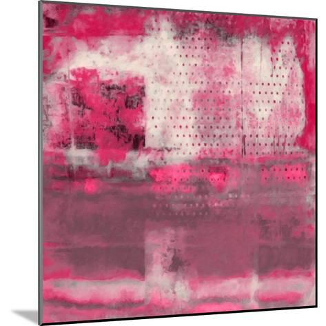 What a Color Art Series Abstract V-Ricki Mountain-Mounted Art Print