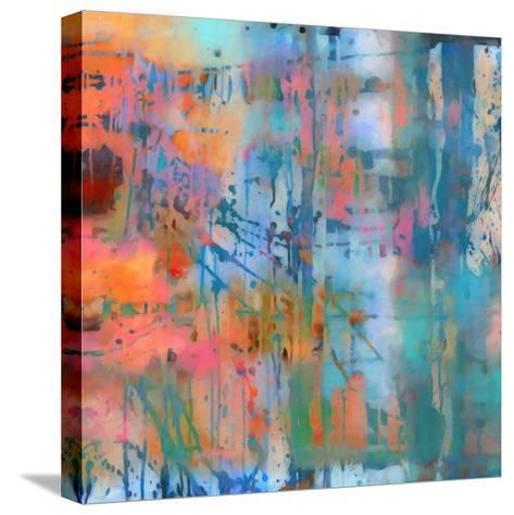 What a Color Art Series Abstract 8-Ricki Mountain-Stretched Canvas Print