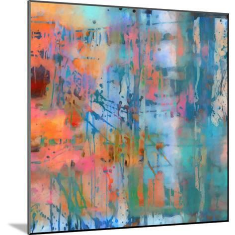 What a Color Art Series Abstract 8-Ricki Mountain-Mounted Art Print
