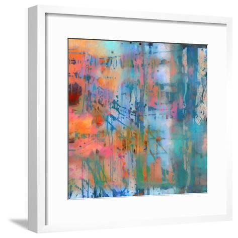 What a Color Art Series Abstract 8-Ricki Mountain-Framed Art Print
