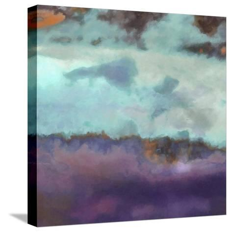 What a Color Art Series Abstract 7-Ricki Mountain-Stretched Canvas Print