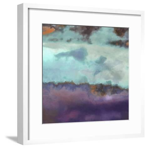 What a Color Art Series Abstract 7-Ricki Mountain-Framed Art Print