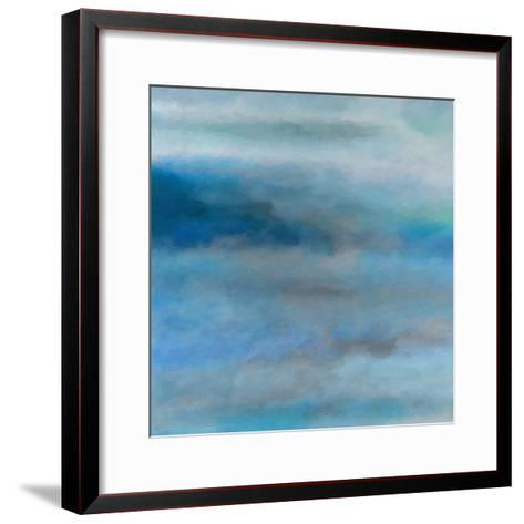 What a Color Art Series Abstract 13-Ricki Mountain-Framed Art Print