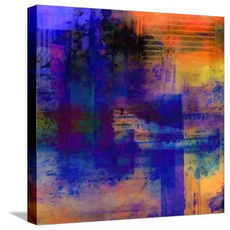 What a Color Art Series Abstract 11-Ricki Mountain-Stretched Canvas Print