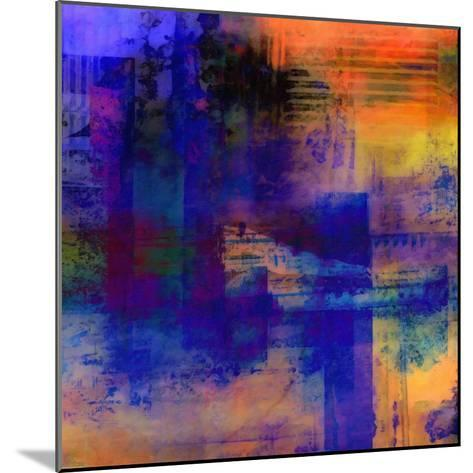 What a Color Art Series Abstract 11-Ricki Mountain-Mounted Art Print