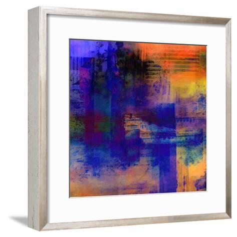 What a Color Art Series Abstract 11-Ricki Mountain-Framed Art Print