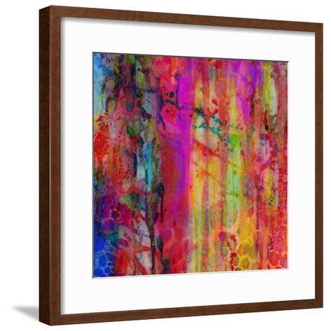 Pop Drip I-Ricki Mountain-Framed Art Print