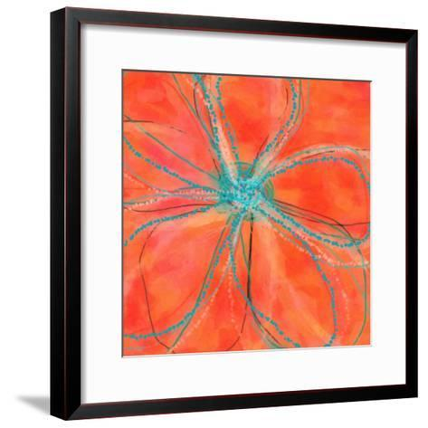 Pop Petal VII-Ricki Mountain-Framed Art Print