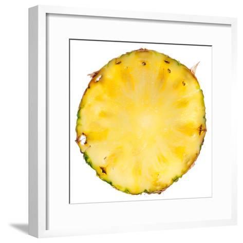 Pineapple Slice-Steve Gadomski-Framed Art Print