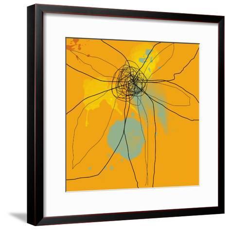 Orange Lite 2-Jan Weiss-Framed Art Print