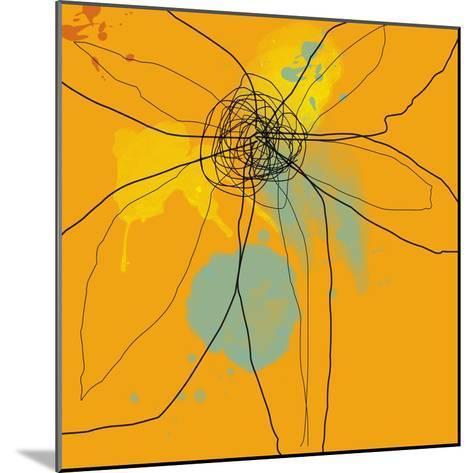Orange Lite 2-Jan Weiss-Mounted Art Print