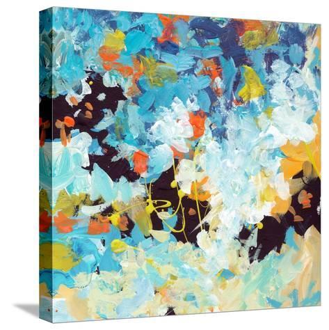 Lunar Freefall 2-Jan Weiss-Stretched Canvas Print