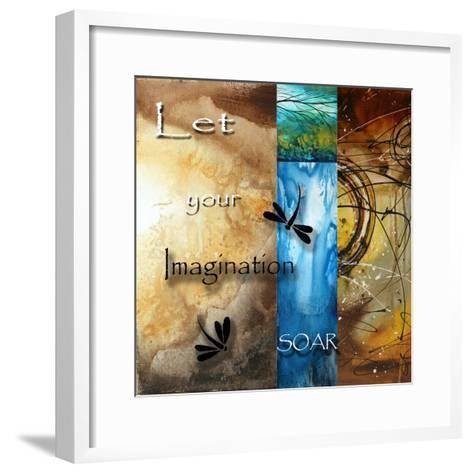 Let Your Imagination Soar-Megan Aroon Duncanson-Framed Art Print