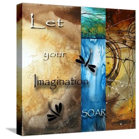 Let Your Imagination Soar-Megan Aroon Duncanson-Stretched Canvas Print