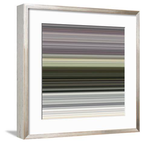 Art Wave 1 of 10 Bold Abstract Art-Ricki Mountain-Framed Art Print