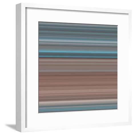 Art Wave 3 of 10 Bold Abstract Art-Ricki Mountain-Framed Art Print