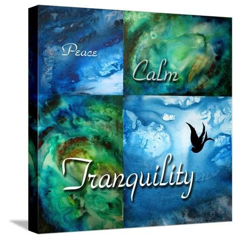 Tranquility-Megan Aroon Duncanson-Stretched Canvas Print