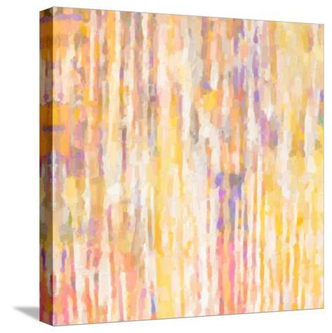 Mellow Yellows II-Ricki Mountain-Stretched Canvas Print