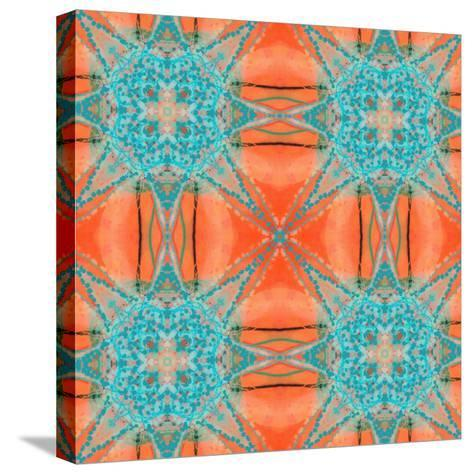 Pattern and Optics-Ricki Mountain-Stretched Canvas Print