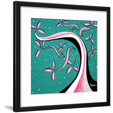 Pretty In Pink-Megan Aroon Duncanson-Framed Art Print