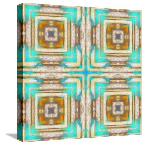 Pattern and Optics-Ricki Mountain-Stretched Canvas Print