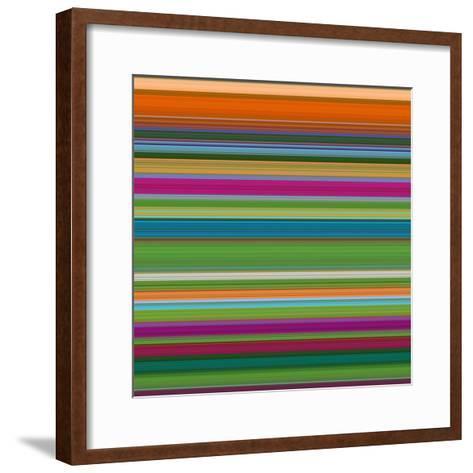 Art Wave 8 of 10 Bold Abstract Art-Ricki Mountain-Framed Art Print