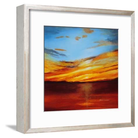 Tranquil Sunset-Herb Dickinson-Framed Art Print
