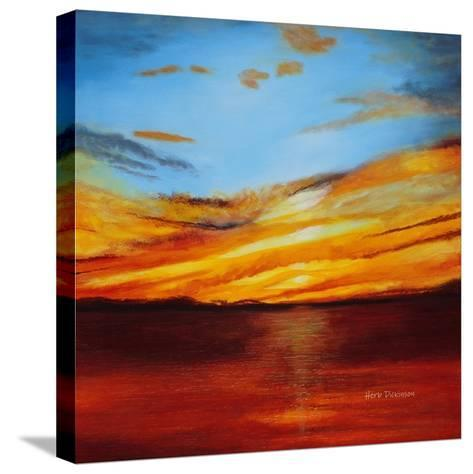 Tranquil Sunset-Herb Dickinson-Stretched Canvas Print