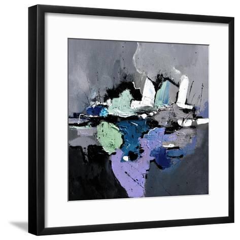 Abstract 4451701-Pol Ledent-Framed Art Print