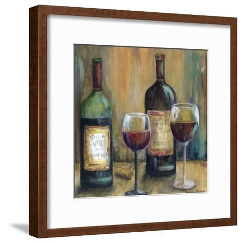 Bottles of Red-Marilyn Dunlap-Framed Art Print