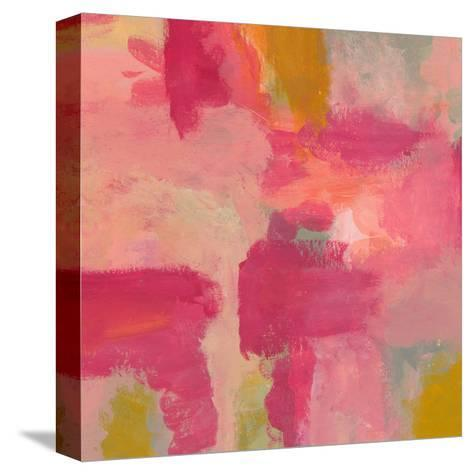 She Dreamt in Pink Two-Jan Weiss-Stretched Canvas Print