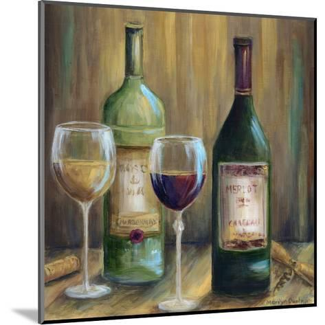 Bottle of Red Bottle of White-Marilyn Dunlap-Mounted Photographic Print