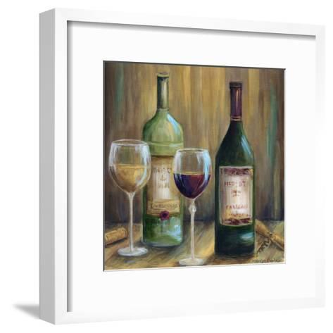 Bottle of Red Bottle of White-Marilyn Dunlap-Framed Art Print