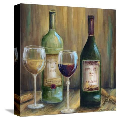 Bottle of Red Bottle of White-Marilyn Dunlap-Stretched Canvas Print