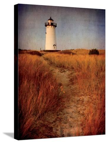 To the Harbor Light-Katherine Gendreau-Stretched Canvas Print