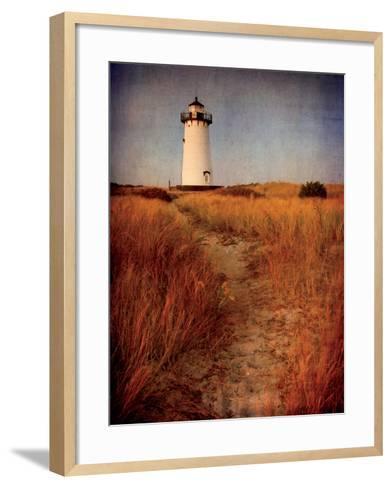 To the Harbor Light-Katherine Gendreau-Framed Art Print