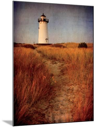 To the Harbor Light-Katherine Gendreau-Mounted Photo