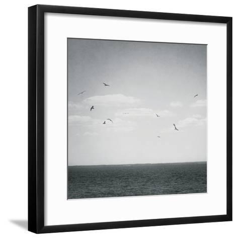 Calm Days IV BW Crop-Elizabeth Urquhart-Framed Art Print