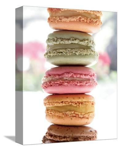 Paris Macaroons-Marc Olivier-Stretched Canvas Print