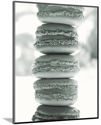 Paris Macaroons BW-Marc Olivier-Mounted Photo