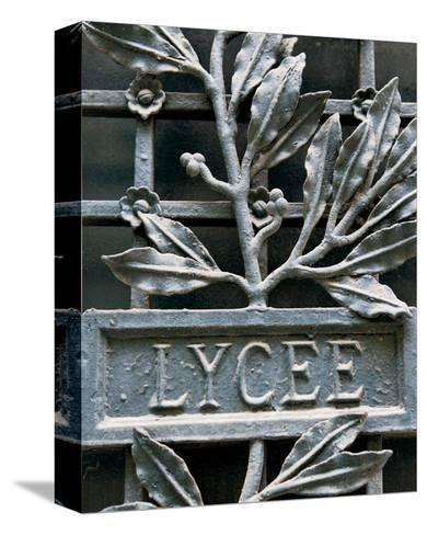 Lycee-Marc Olivier-Stretched Canvas Print